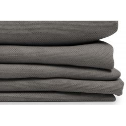 Grey Linen Effect Dim-out Custom Curtain Country Baby MC09