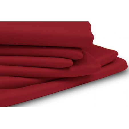 Red Thermal Blackout Custom Curtain MC310