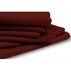 Red Thermal Blackout Custom Curtain MC316