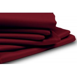 Red Thermal Blackout Custom Curtain MC330