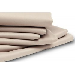 Beige Thermal Blackout Custom Curtain MC634