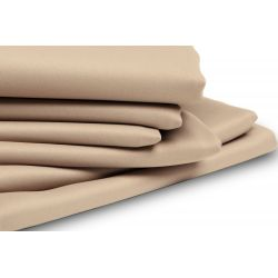 Beige Thermal Blackout Custom Curtain MC651