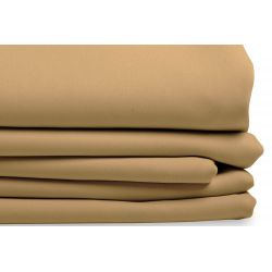 Beige Thermal Blackout Custom Curtain MC43