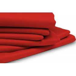 Red Thermal Blackout Custom Curtain MC51