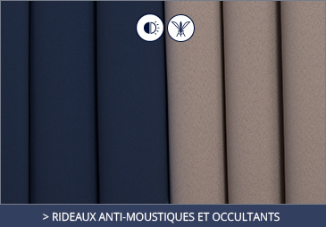Mosquitto-repellent curtains