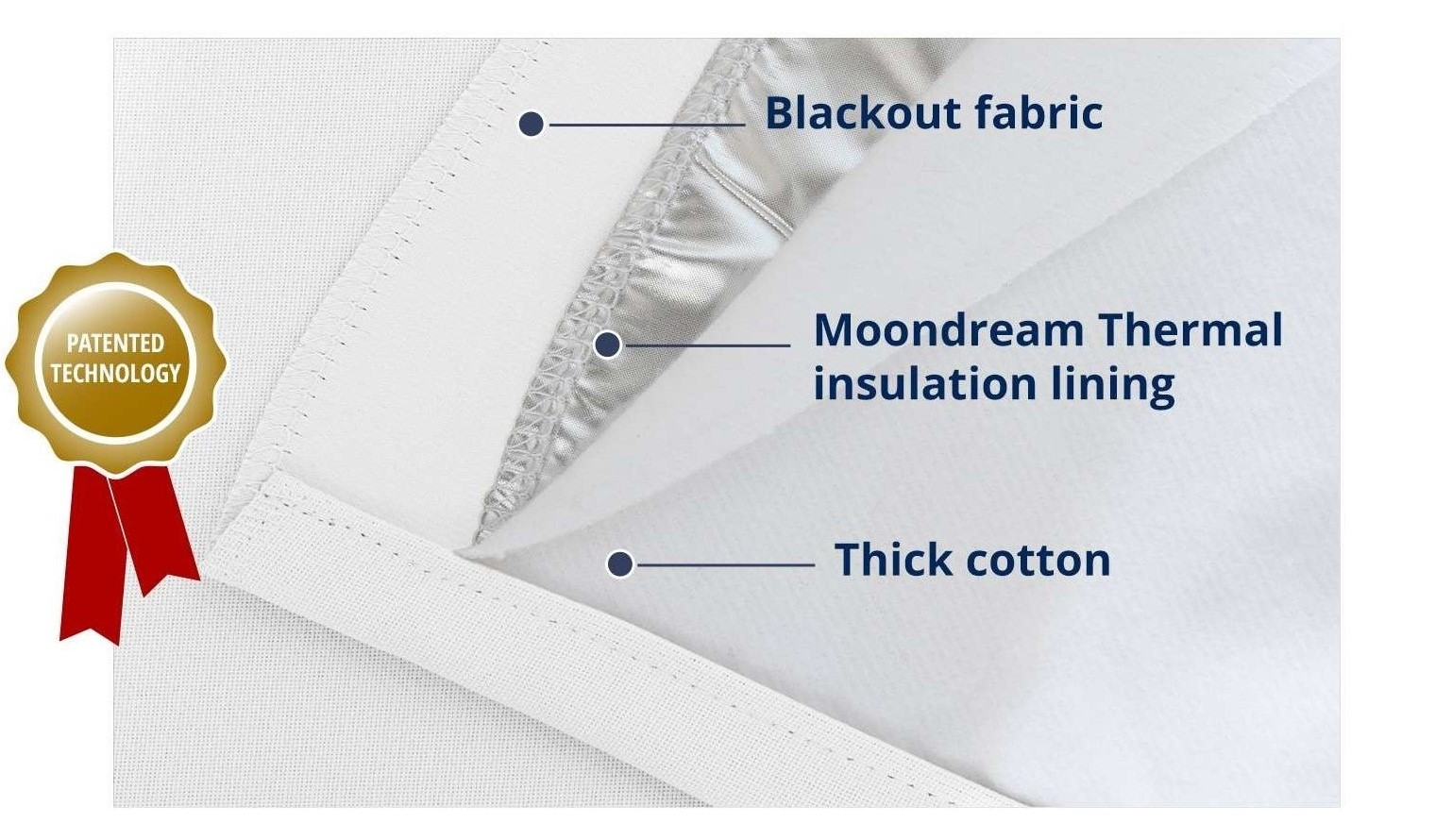 Best noise reducing curtains: thick sound blocking curtains